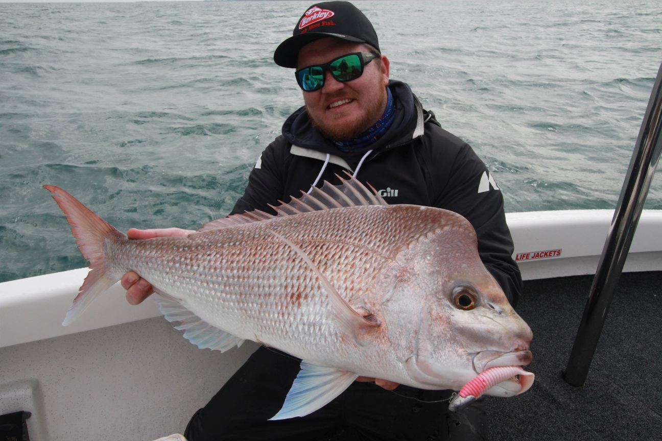 Tim from Berkley with a nice snapper