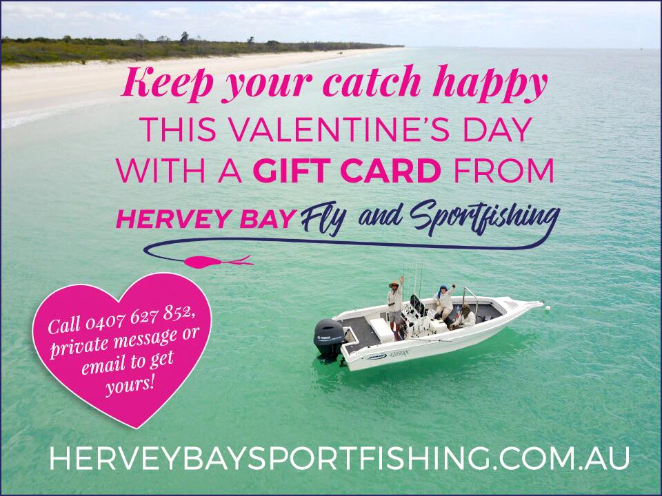 get your loved one a fishing charter gift card for Valentine's Day