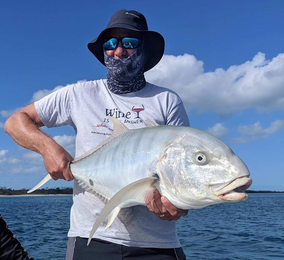 Golden trevally can be found around the tuna during Autumn