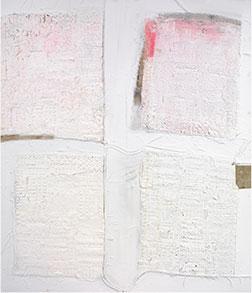 JOHN BLACKBURN - Four White Squares I