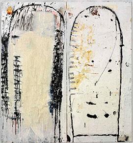 JOHN BLACKBURN - Two Totems