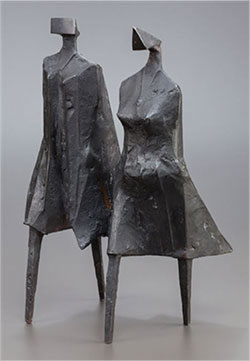 LYNN CHADWICK - Walking Couple III