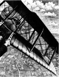 Banking at 4000 ft (CRW NEVINSON (1889-1946))