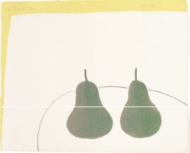 WILLIAM SCOTT (1913-1989) Dark Pears, 1974