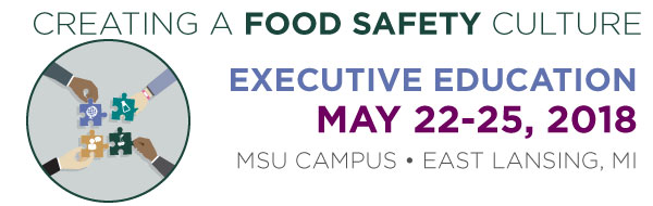 Creating a Food Safety Culture May 22-25