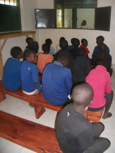Children waiting at MC