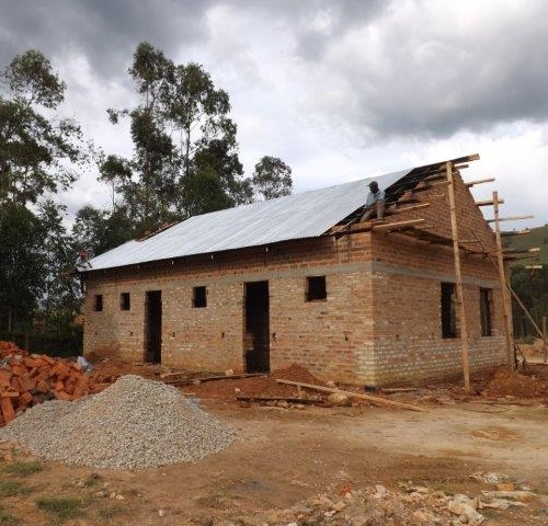 Roof on Training Centre Classrooms