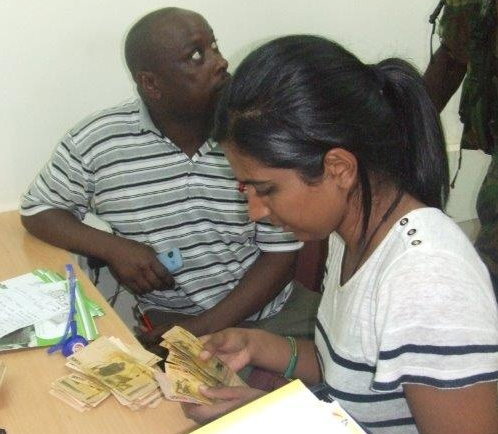 Dr Amna & Dr Moses buy Medical Equipment