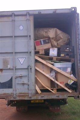Arrival of Container