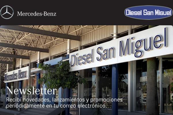 Diesel San Miguel | Newsletter