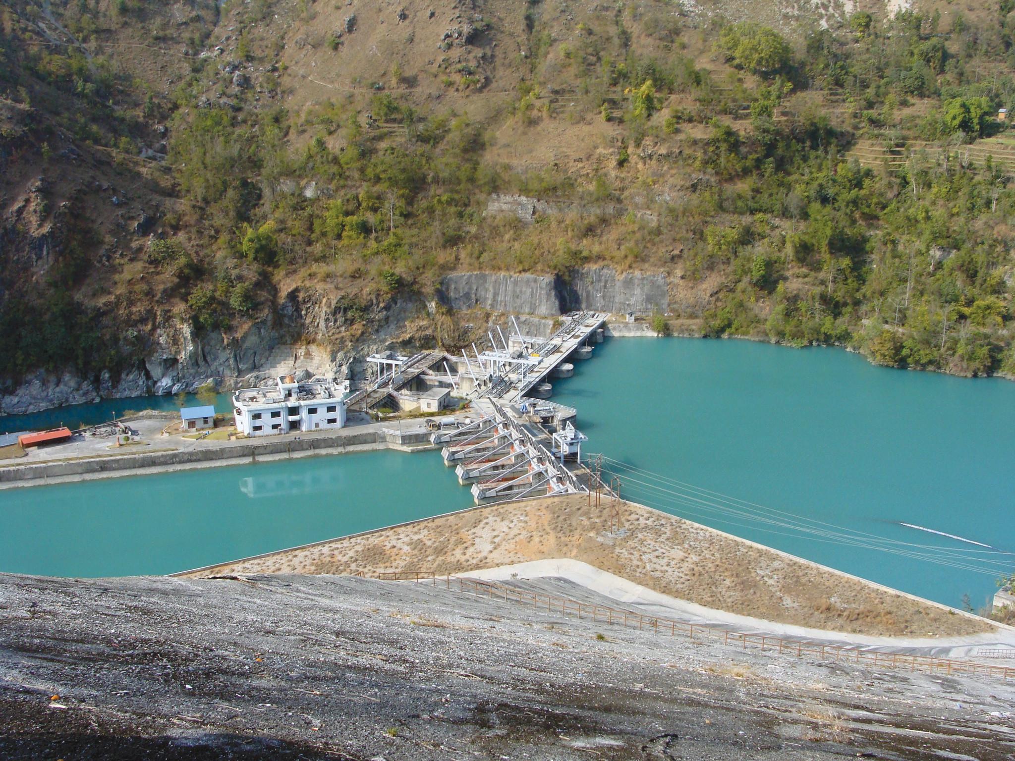Kaligandaki Hydropower Project. Photo: Rashmi Kiran Shrestha/ICIMOD
