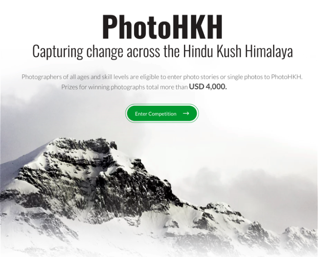 PhotoHKH: Capturing Change across the Hindu Kush Himalaya