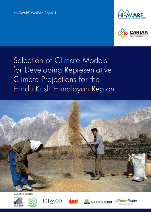 Selection of Climate Models for Developing Representative Climate Projections for the Hindu Kush Himalayan Region