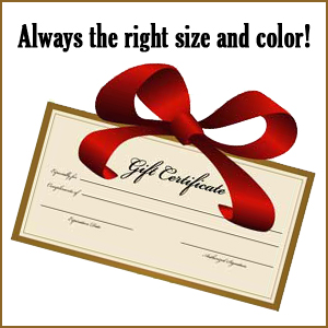 Get a Gift Certificate!