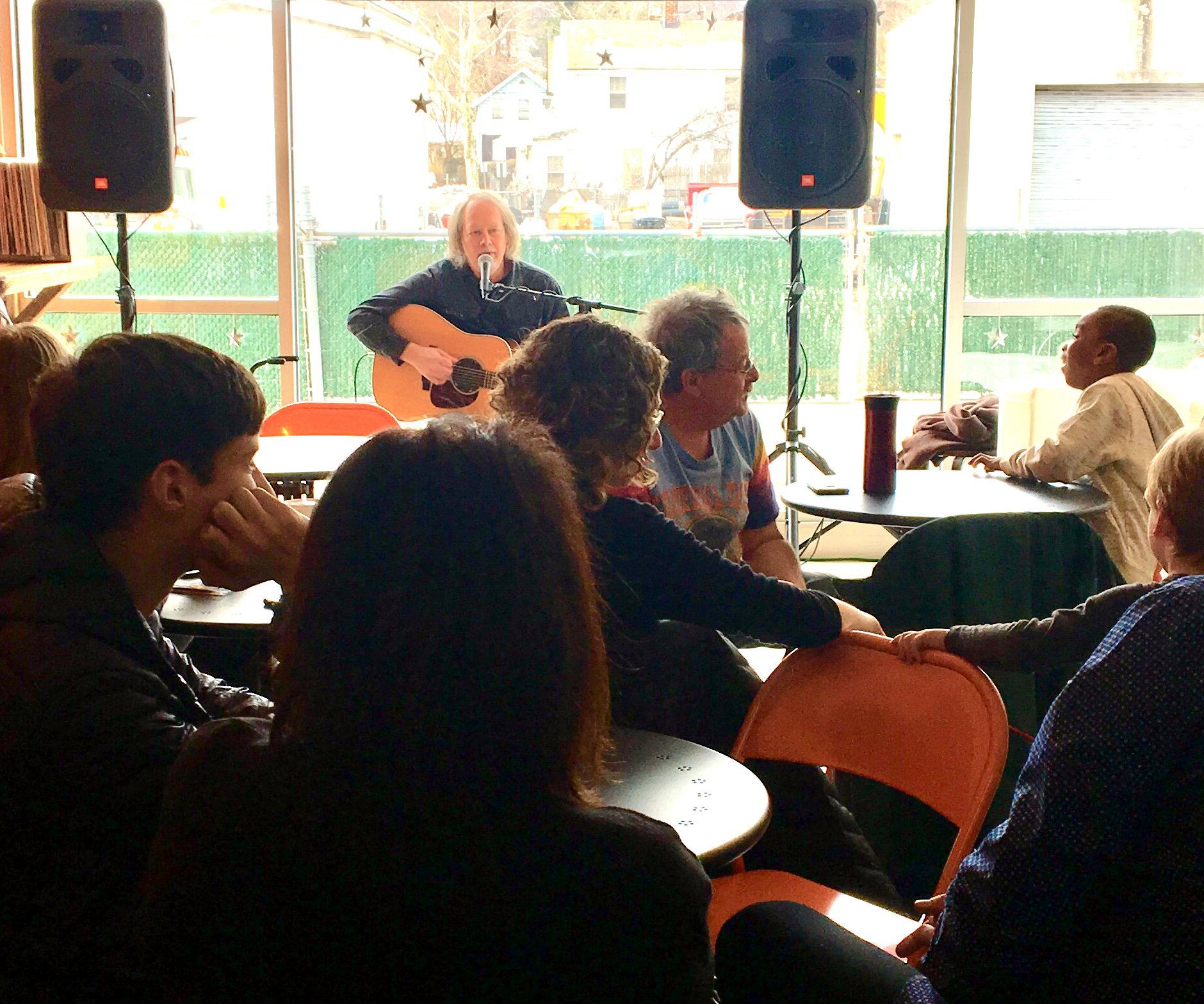 Steve Jones acoustic guitar