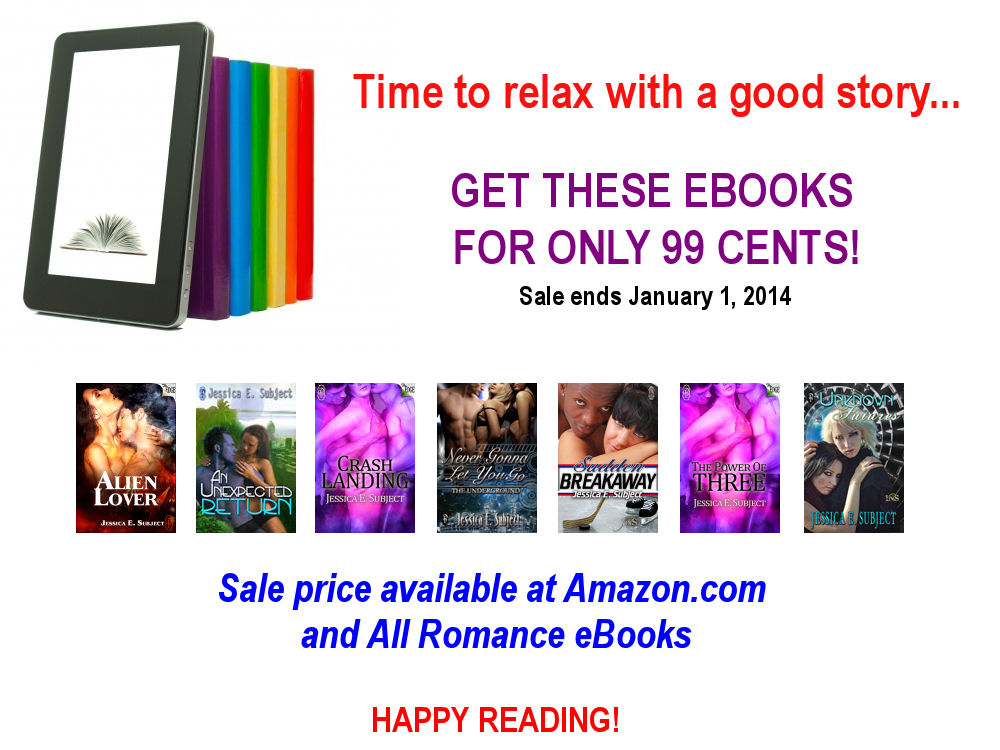 7 ebooks for only $0.99 each!