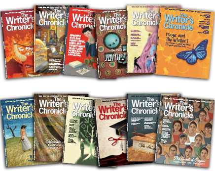 Twelve issues of the Writer's Chronicle Magazine
