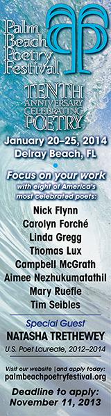 Palm Beach Poetry Festival Ad