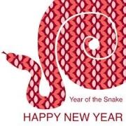 Year of the Snake, starts February 10, 2013.