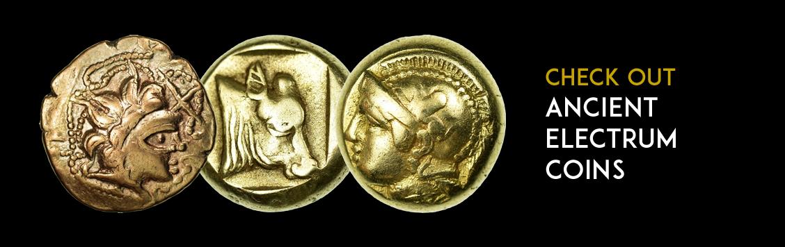 Check out: ancient electrum coins