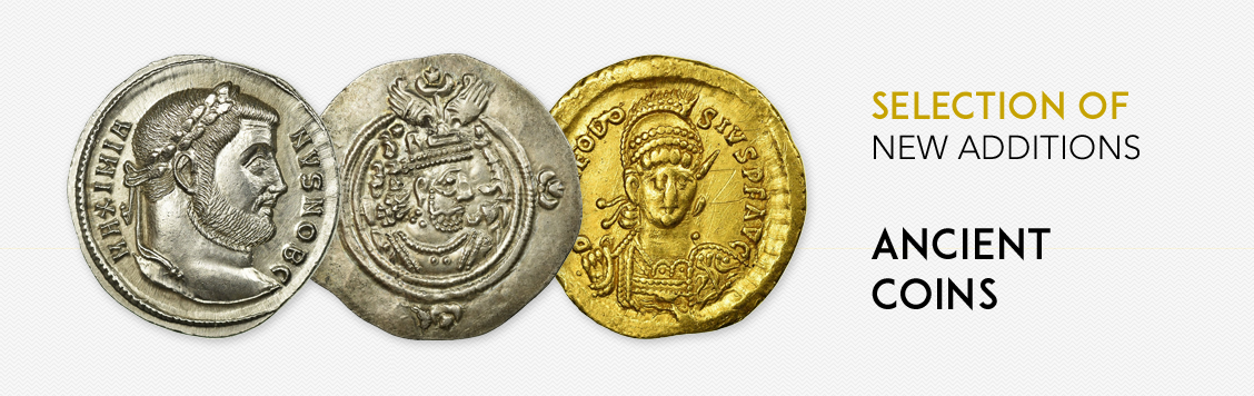 Selection of new additions: ancient coins