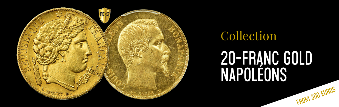 20-franc gold Napoléons from €300