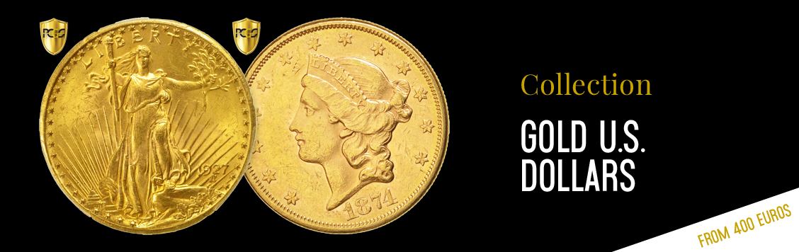 Gold U.S. dollars from €400