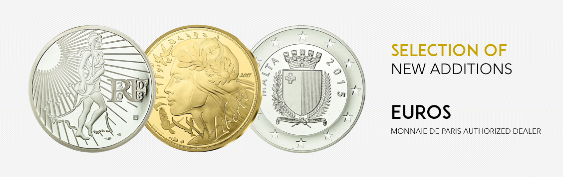 Selection of new additions: euros