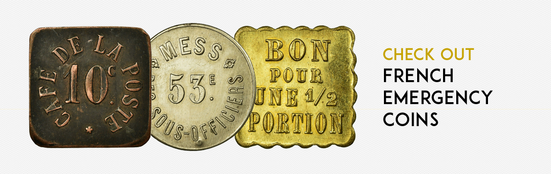 Check out: French emergency coins