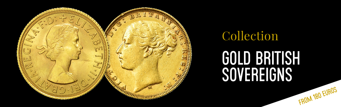 Gold British sovereigns from €180