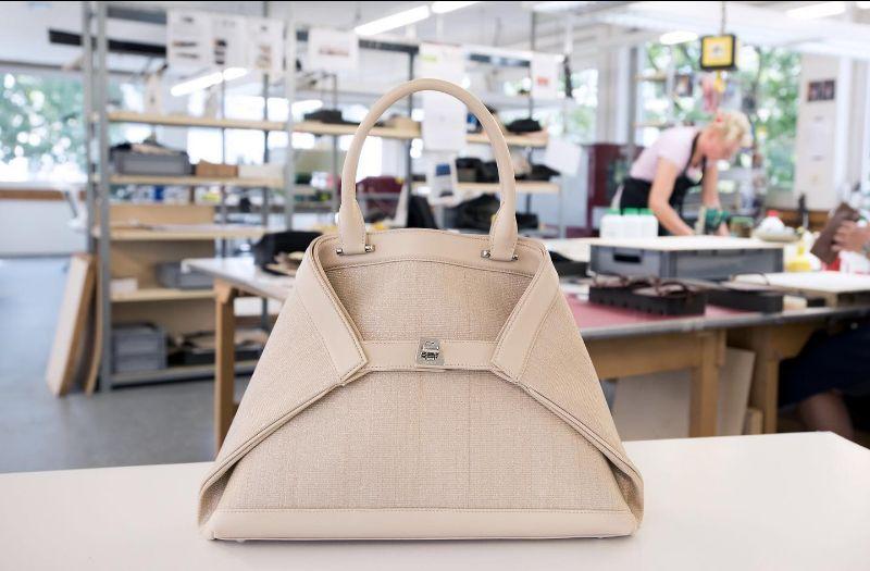 AI Akris handbags in Beige