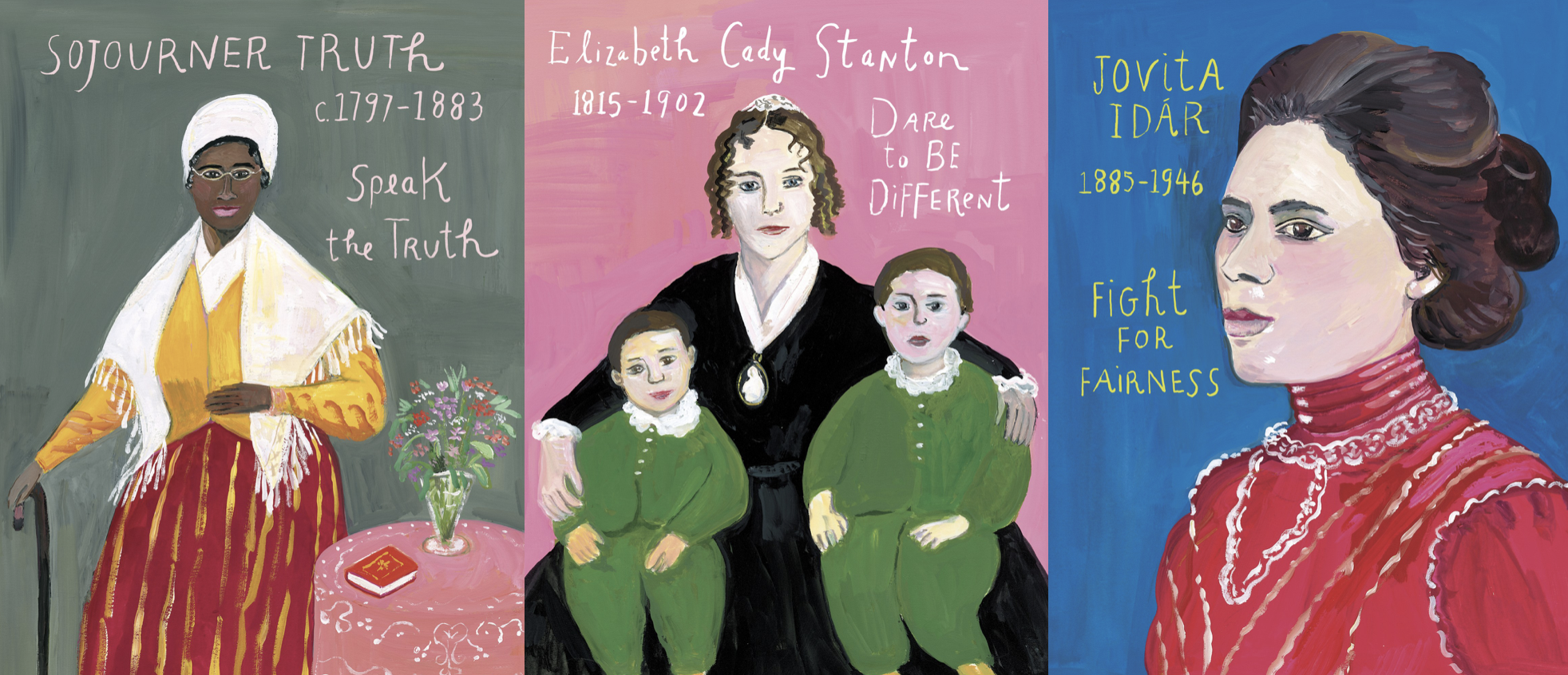 Bold and Brave by Kirsten Gillibrand, Maria Kalman illustrations