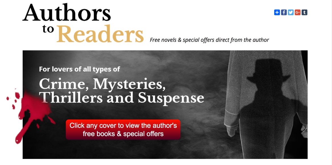 20 author book promotion: crime, mystery, thriller, suspense