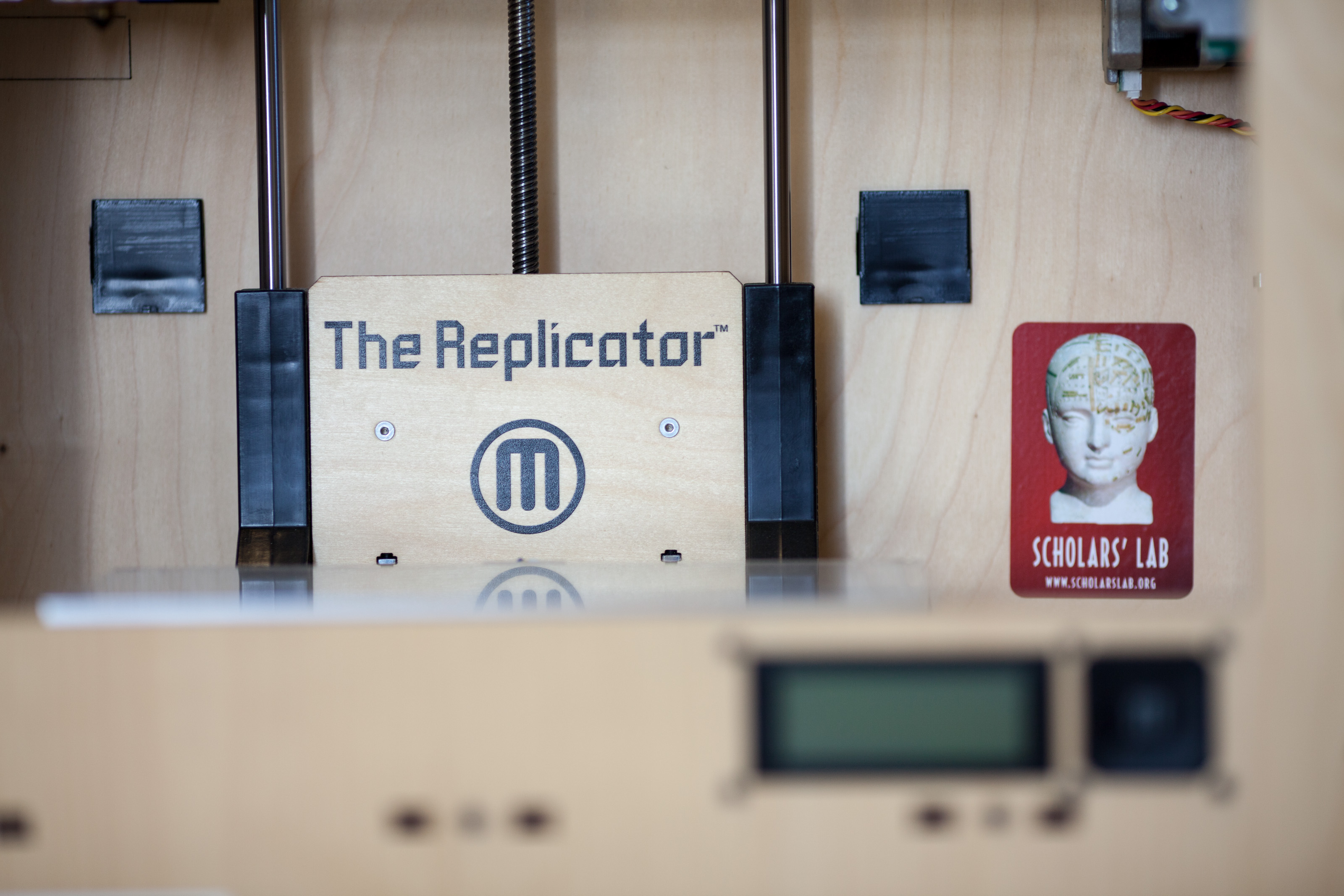 orginial Replicator close-up