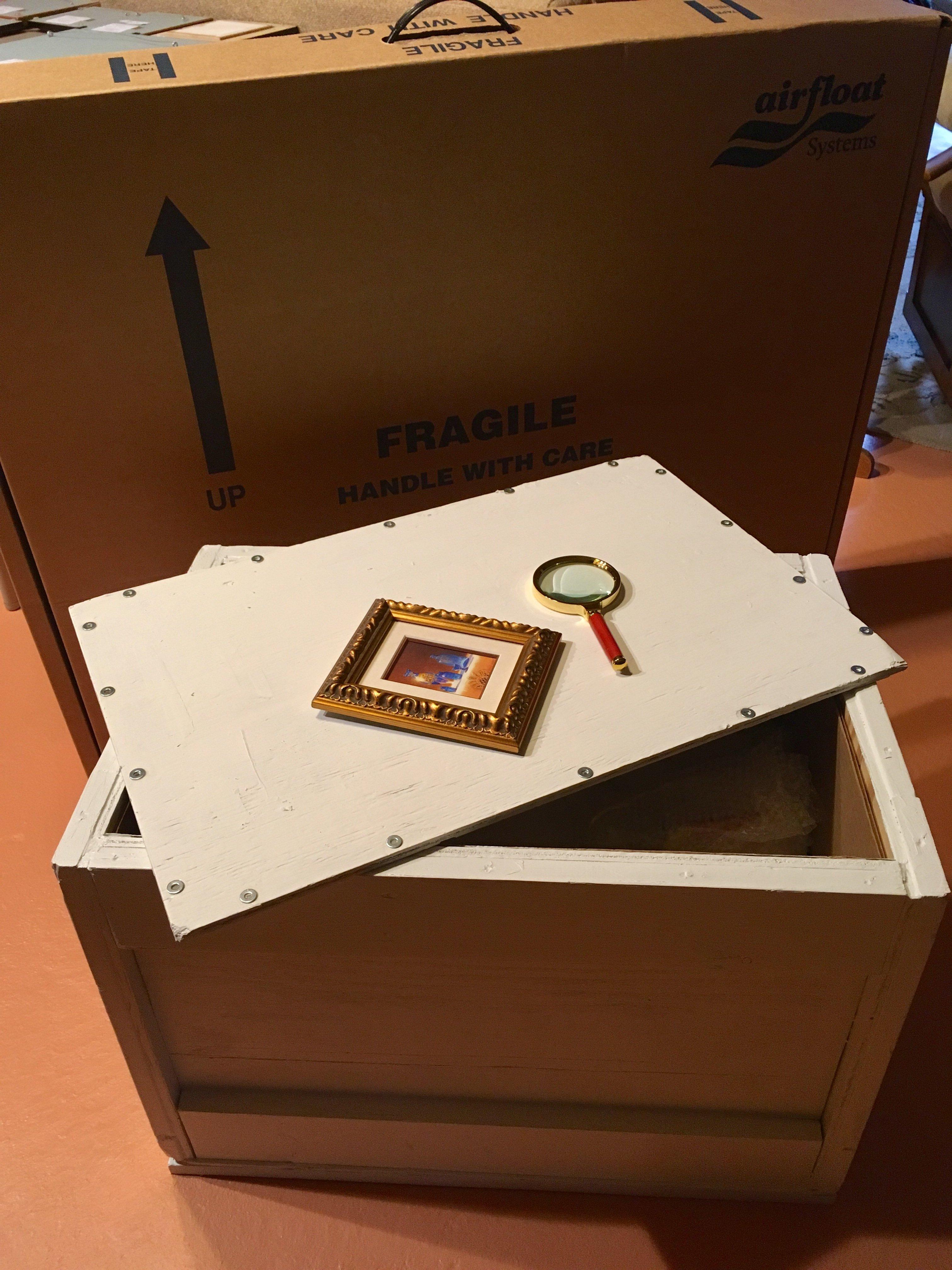 Siegrist Exquisite Miniatures Crates