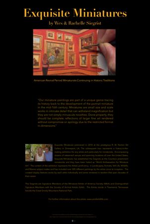 Siegrist Exquisite Miniatures Panel 1