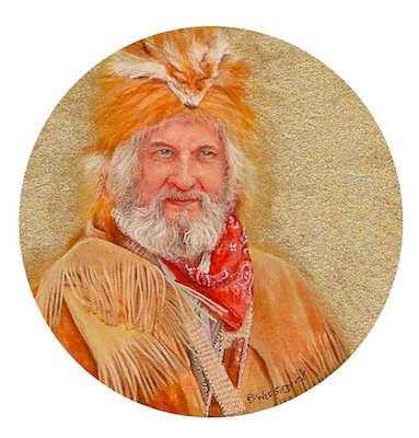 Mountain Man Herb Herrick by Wes Siegrist