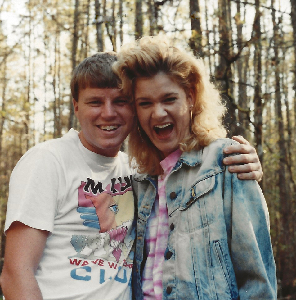 Wes and Rachelle Siegrist, November 1989