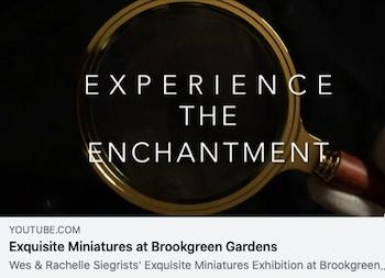 YouTube Video of Exquisite Miniatures at Brookgreen Gardens