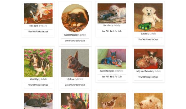 Pet commissions by Rachelle Siegrist