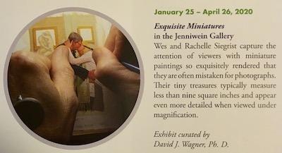 Siegrist Exquisite Miniatures Exhibition at Brookgreen Gardens