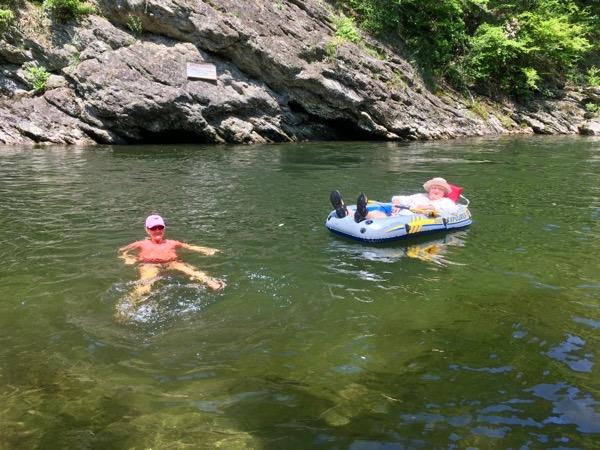 Water fun in the GSMNP