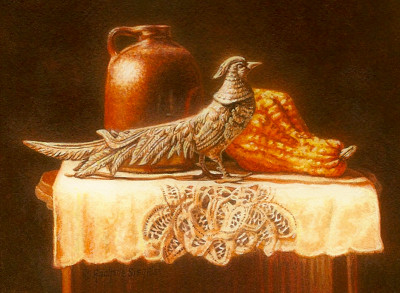 Still life painting by Rachelle Siegrist