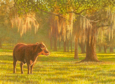 A Southern Pasture by Rachelle Siegrist