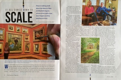 Siegrist article in The Tennessee Magazine
