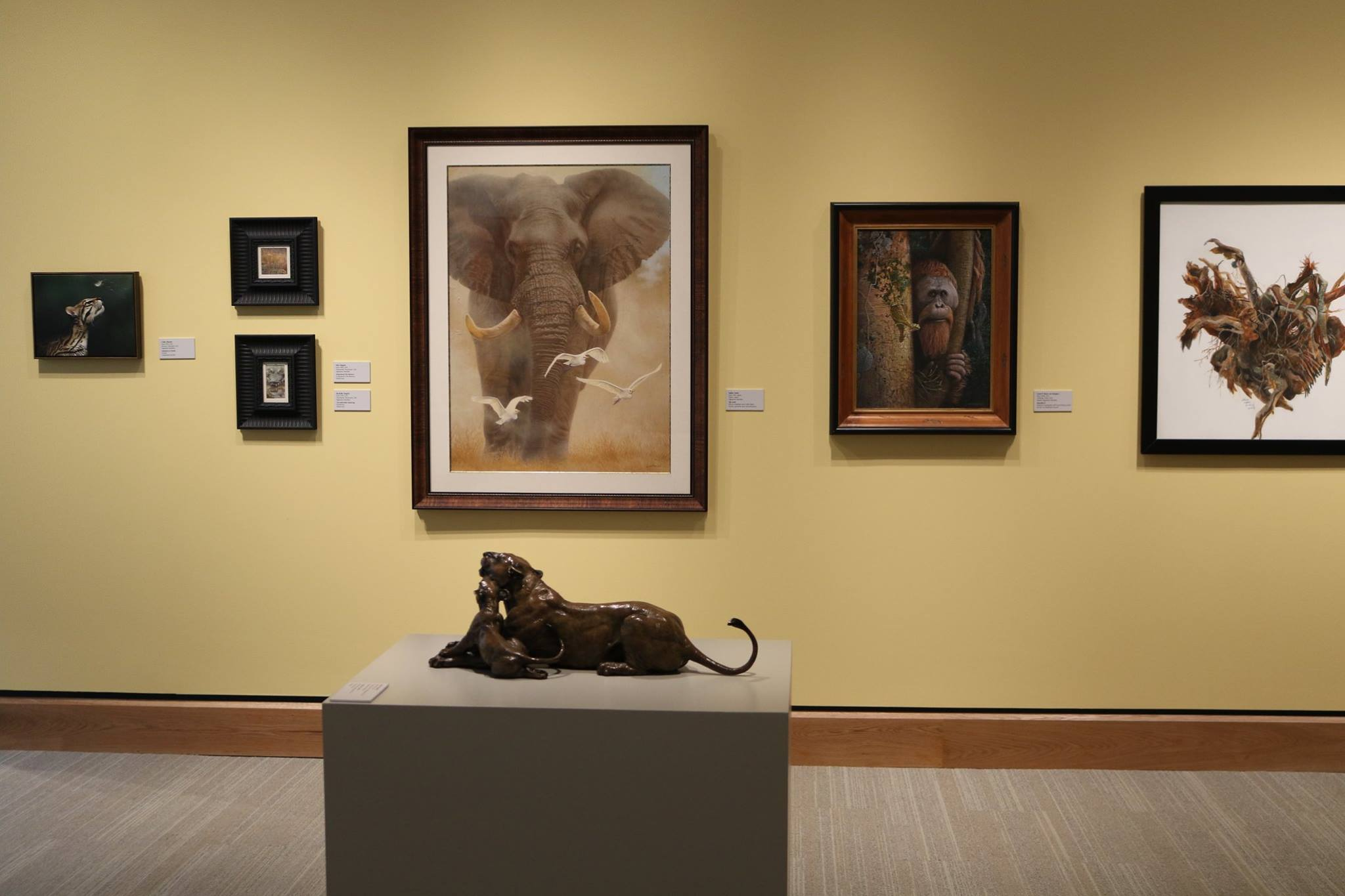 Siegrist paintings in the SAA's 58th Annual Exhibition