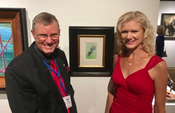 Wes and Rachelle Siegrist at the Briscoe Western Art Museum