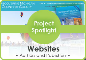 Project spotlight Websites for Authors and Publishers