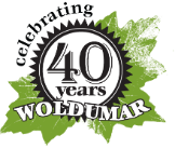 Woldumar Nature Center Anniversary Logo