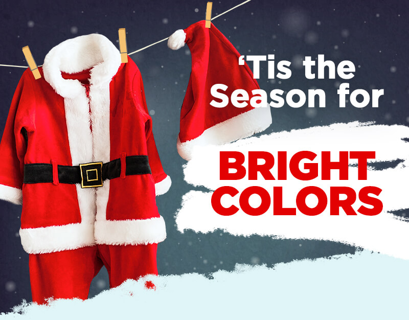 'Tis the Season for Bright Colors